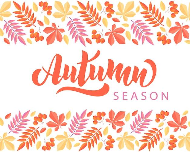 Herfst wenskaarten perfect voor prints flyers banners uitnodigingen promoties en meer vector