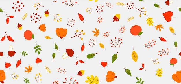 Herfstbehang, textiel, decoratie, textuur, bos, print, patroon