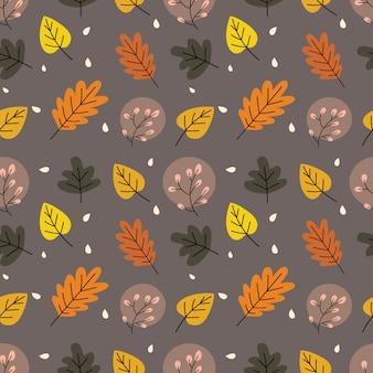 Herfstbladeren naadloos