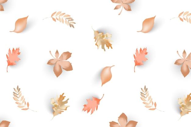 Herfstbladeren patronen