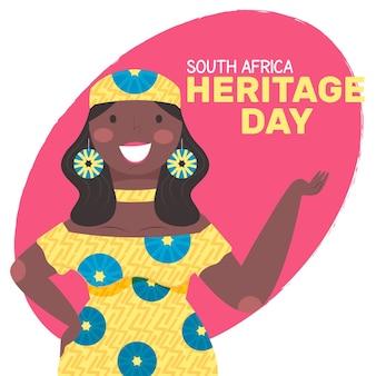 Heritage day illustratie