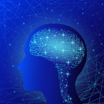 Hersenen concept