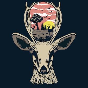 Herten dier