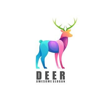Herten logo kleurrijk verloop