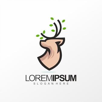 Herten logo ontwerp