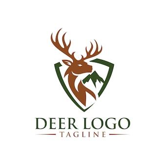 Herten logo sjabloon