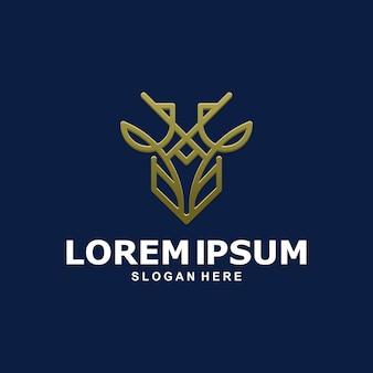 Herten monogram logo