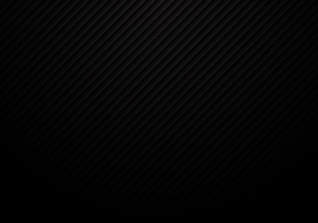 Het abstracte zwarte lijnenpatroon herhaalt gestreepte achtergrond