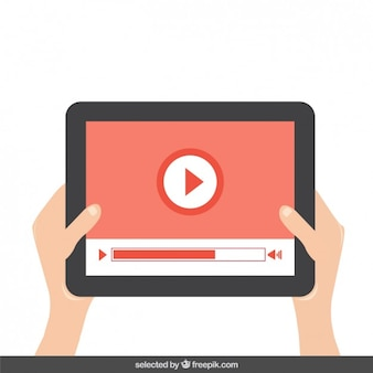 Het afspelen van video op het tablet