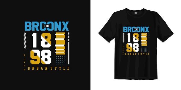 Het bronx urban stijl t-shirt