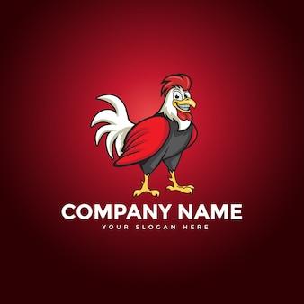 Het chicken rooster-logo
