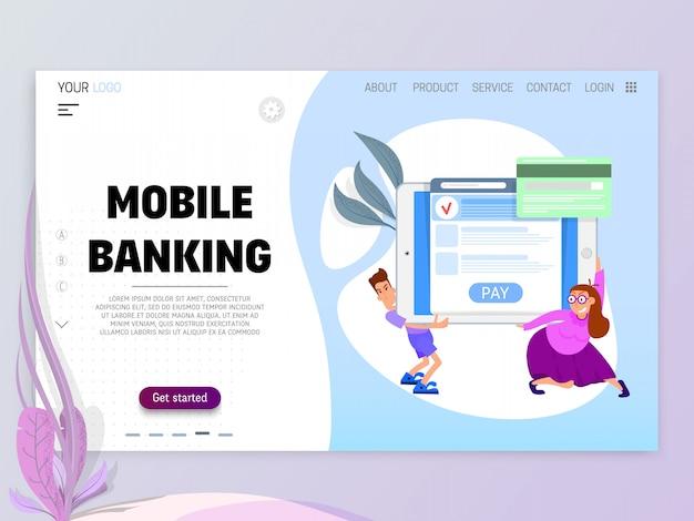 Het concept van online betaling per kaart