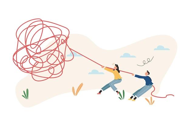 Het concept van sociale psychiatrie ontrafelen van moeilijke situaties