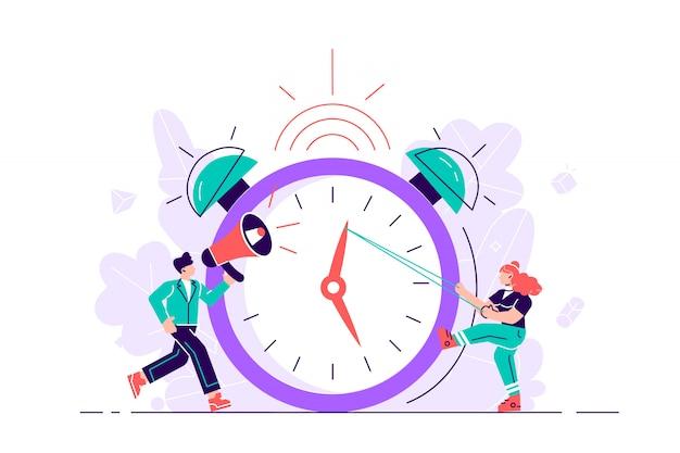 Het concept van werktijdbeheer
