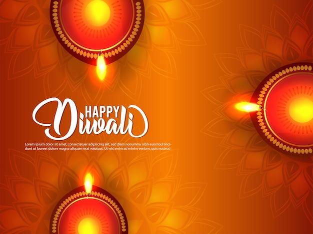 Het festival van india gelukkige diwali