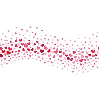 Het huwelijk van de aantrekkingskracht en de abstracte vectorachtergrond van valentijnskaarten