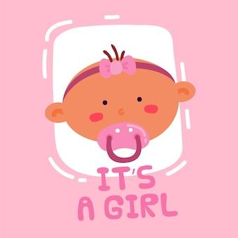 Het is een meisje