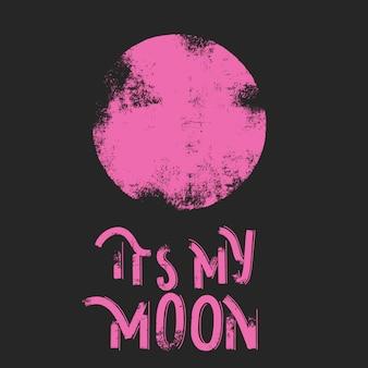 Het is mijn maan