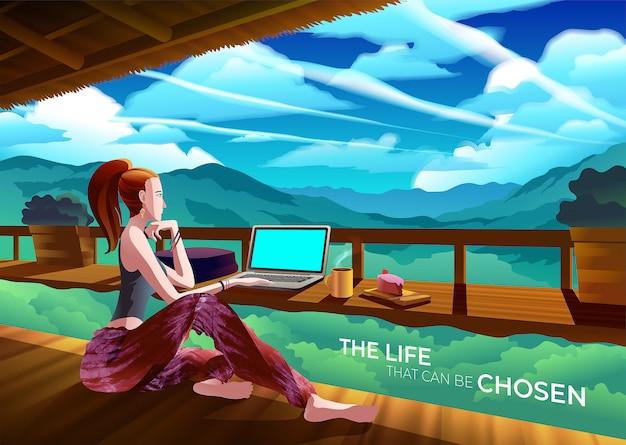 Het leven dat kan worden gekozen