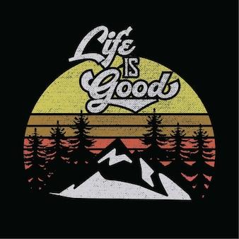 Het leven is een goed citaat