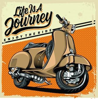 Het leven is een reis
