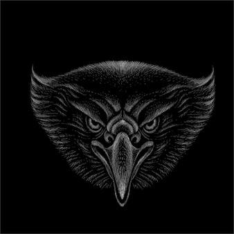Het logo adelaar