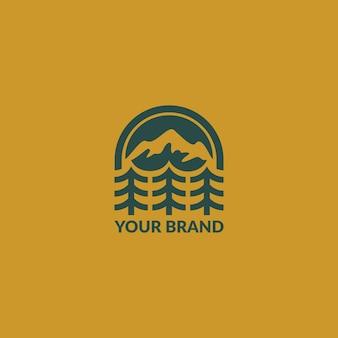 Het logo van de berg