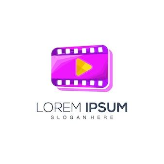 Het logo van de filmspeler