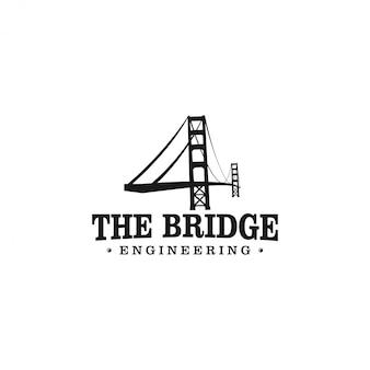 Het logo van de golden gate bridge engineering