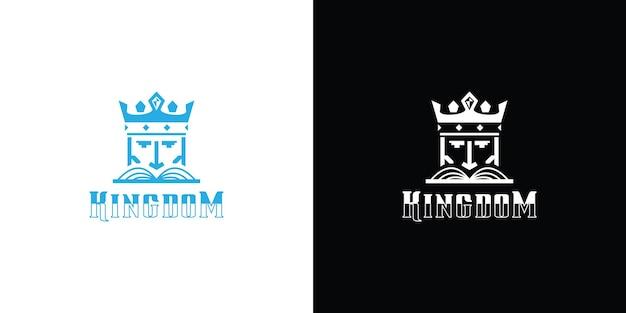 Het mascotte-logo van de koning van het oude koninkrijk in het keizertijdperk
