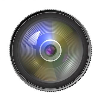 Het objectief van de lens