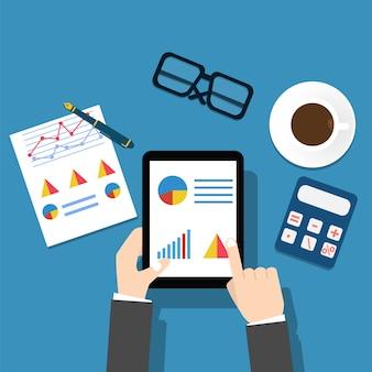 Het onderzoeken van economische statistiek