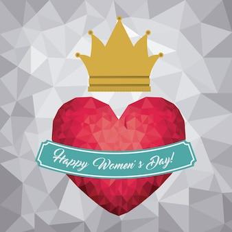 Het ontwerp van de gelukkige vrouwendag