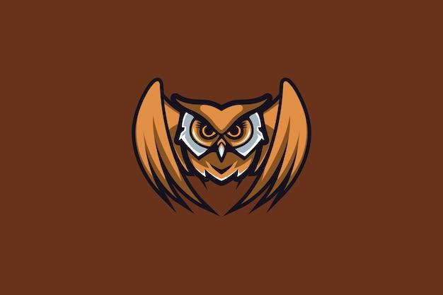 Het owl e sports-logo