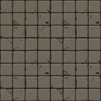 Het patroon van stenen tegels