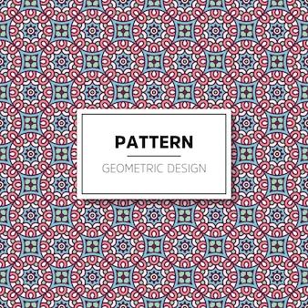 Het patroonachtergrond van de luxe siermandala