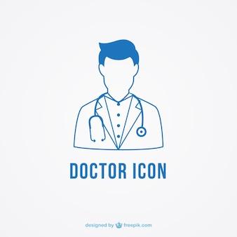 Het pictogram van de arts