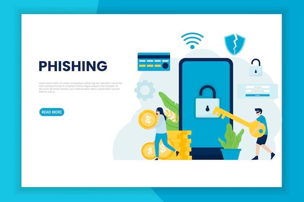 Het stelen van informatie digitaal hacken concept