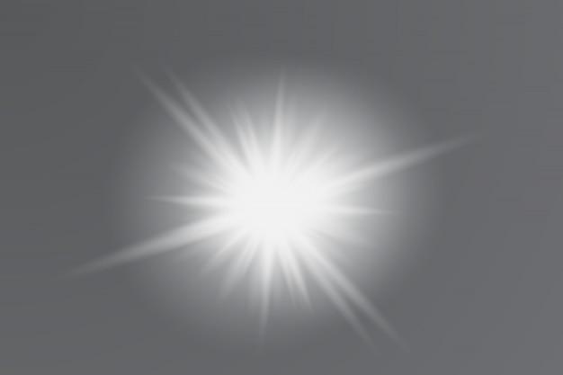 Het stof is geel. gele vonken en gouden sterren schijnen met een bijzonder licht. vector schittert