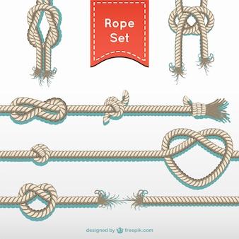 Het touw touw vector