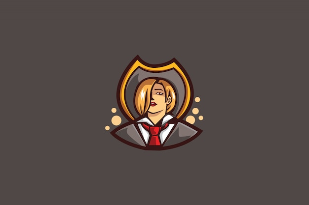 Het vampire e sports-logo