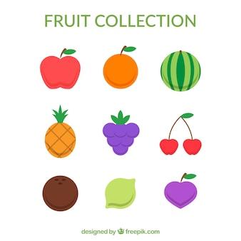 Het verzamelen van heerlijke fruit