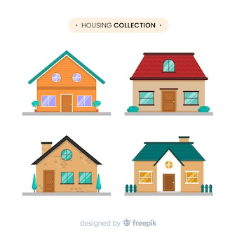 Het verzamelen van huizen