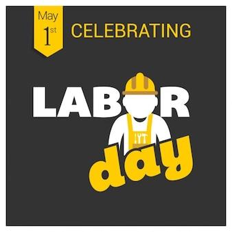 Het vieren dag van de arbeid