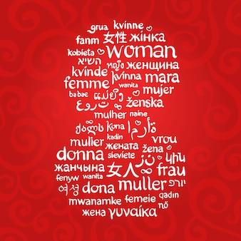 Het woord vrouw