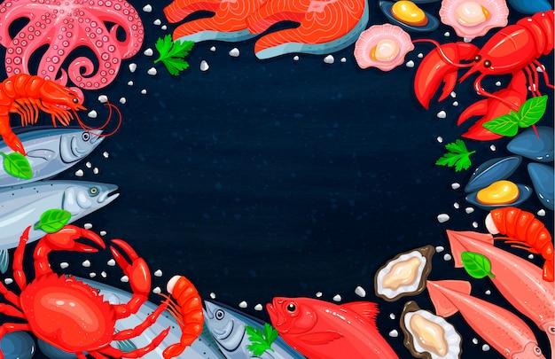 Het zeevruchtenassortiment
