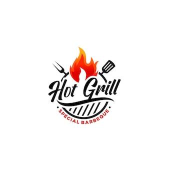 Hete grill-logo