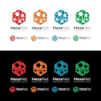 Hexagon network-logo