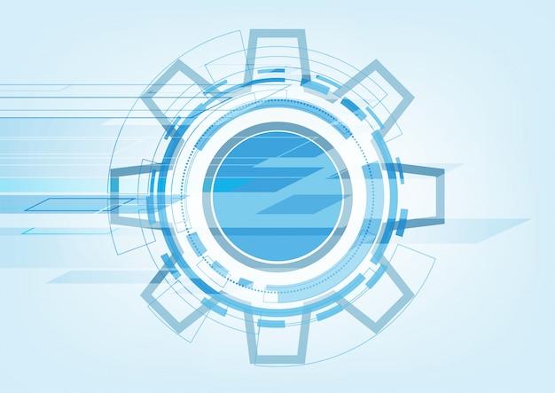 Hi-tech technologie abstracte achtergrond
