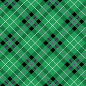 Hibernian fc tartan stof textuur diagonaal naadloos patroon